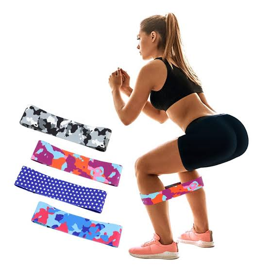 Hip Resistance Bands (3pieces/pack) | Workout Elastic Bands (3sizes/pack)