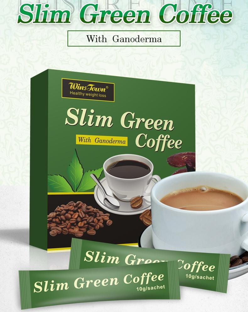Slim Green Coffee with Ganoderma | Green Coffee for Weight Loss