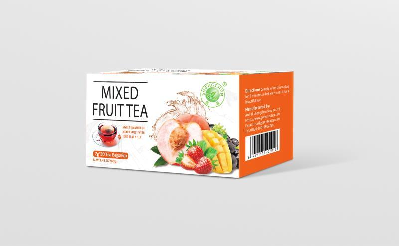 Mixed Fruits with Fine Black Tea | Immune Booster Tea