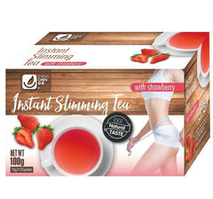 Instant Slimming Tea with Strawberry