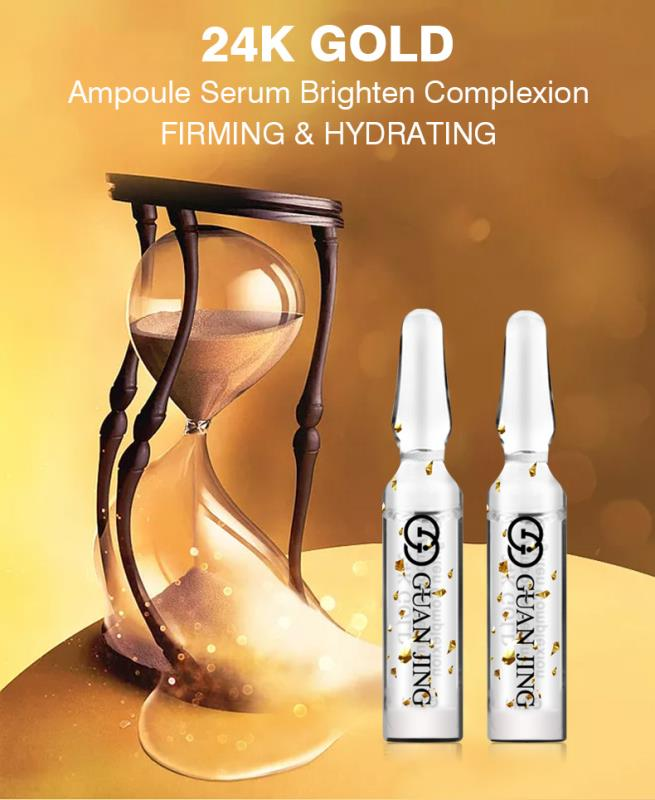 24K Gold Ampoule Face Serum (7 Bottles) | Face Serum