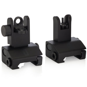 Chaos Ready Spring Loaded Backup Iron Sights