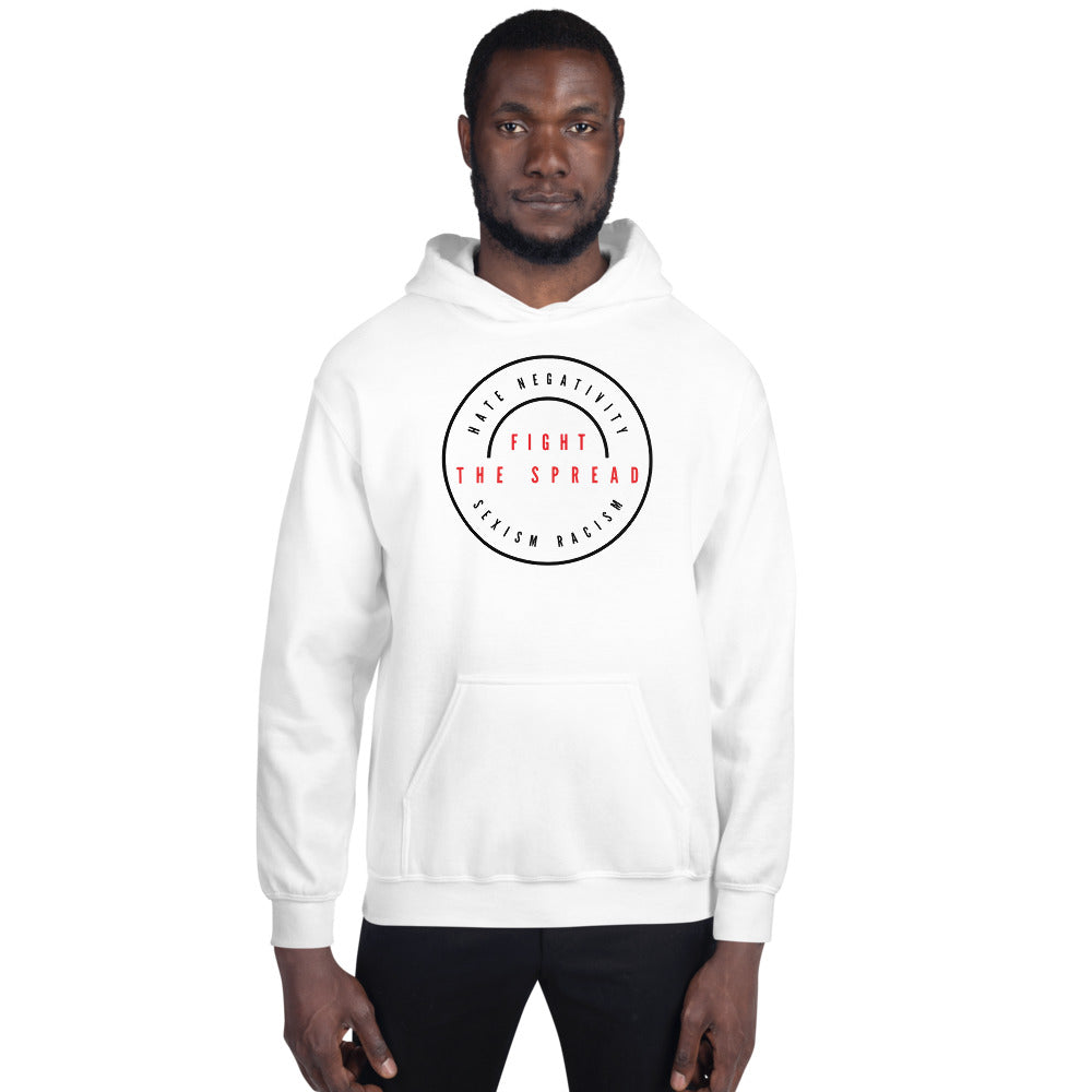 Fight The Spread Logo - Unisex Hoodie