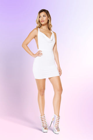 High Neck Seamless Dress