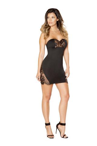 V-Plunge Seamless Mini Dress