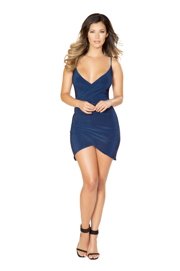 Spaghetti Strap Scrunch Dress