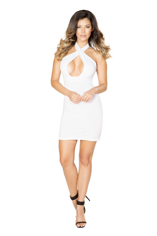 E-Z Street Cutout Mini Dress