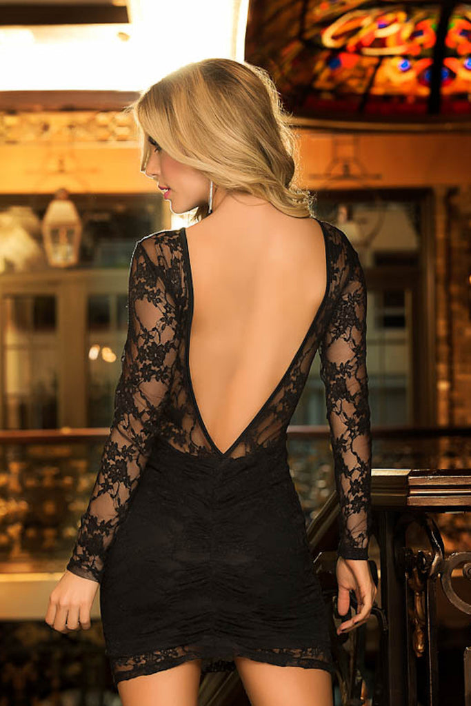 Luxurious Lace Dress ElleStyles