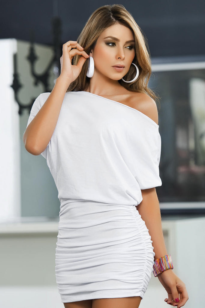 Off Shoulder Dress ElleStyles