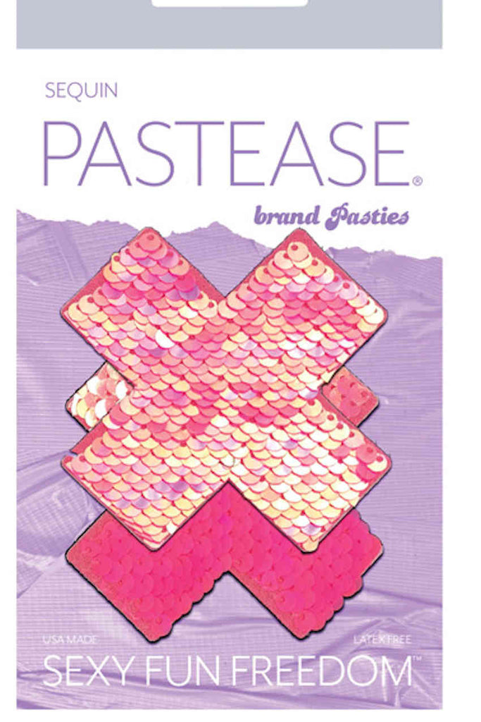 Pastease Color Changing Flip Sequins Pink
