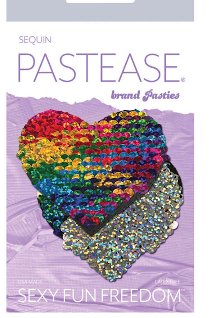 Pastease Color Changing Flip Sequins Heart
