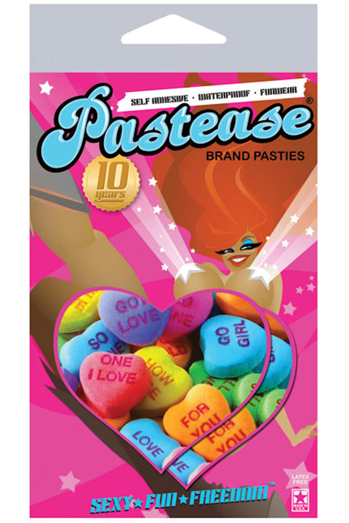 Pastease Valentines Heart Pasties ElleStyles
