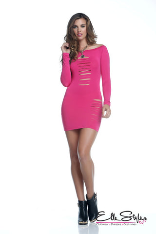 Mini Dress with Full Zip
