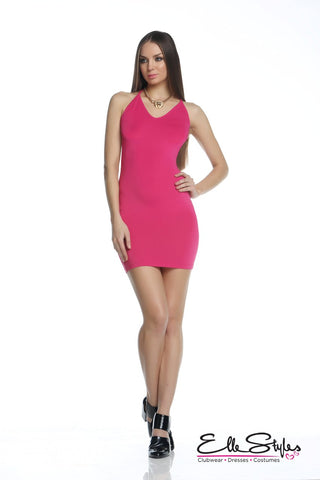 Watermelon Red Bandage Dress