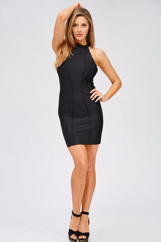Seamless Halter Dress and G-String