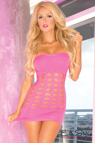 Exotica One Shoulder Dress