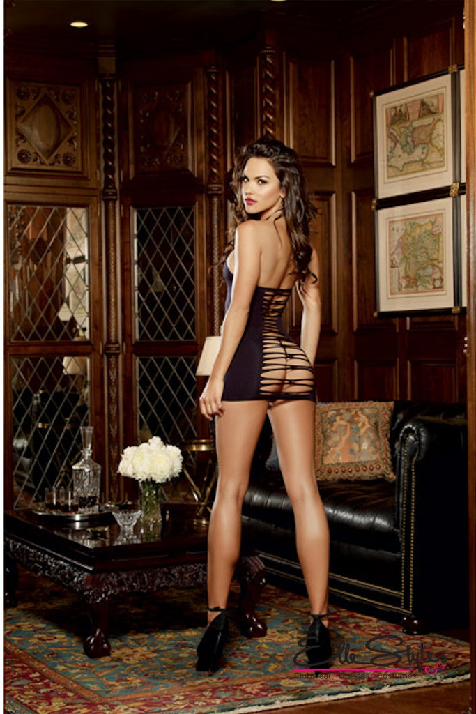 Seamless Halter Dress and G-String ElleStyles