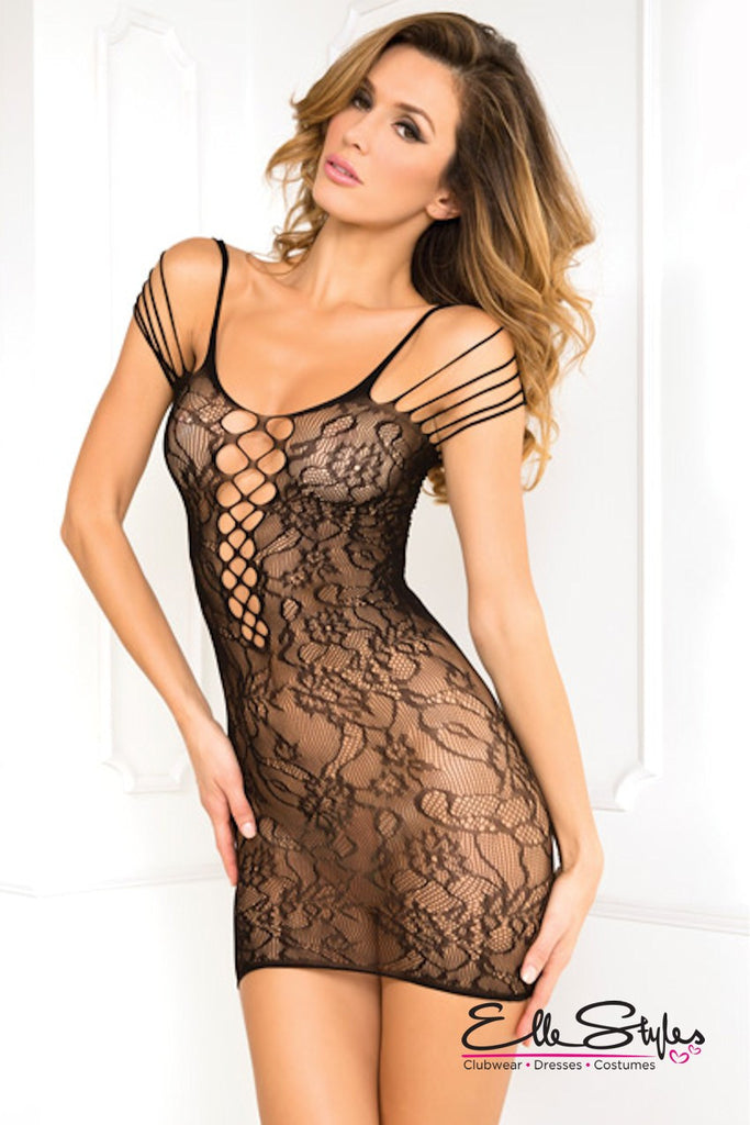 Off The Hook Lace Dress ElleStyles