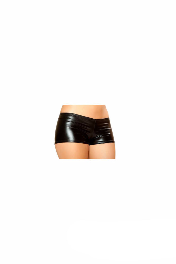 Pucker Back Metallic Short