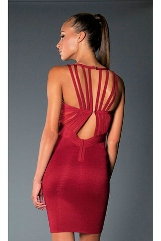 Big Spender Multi-Net Seamless Dress