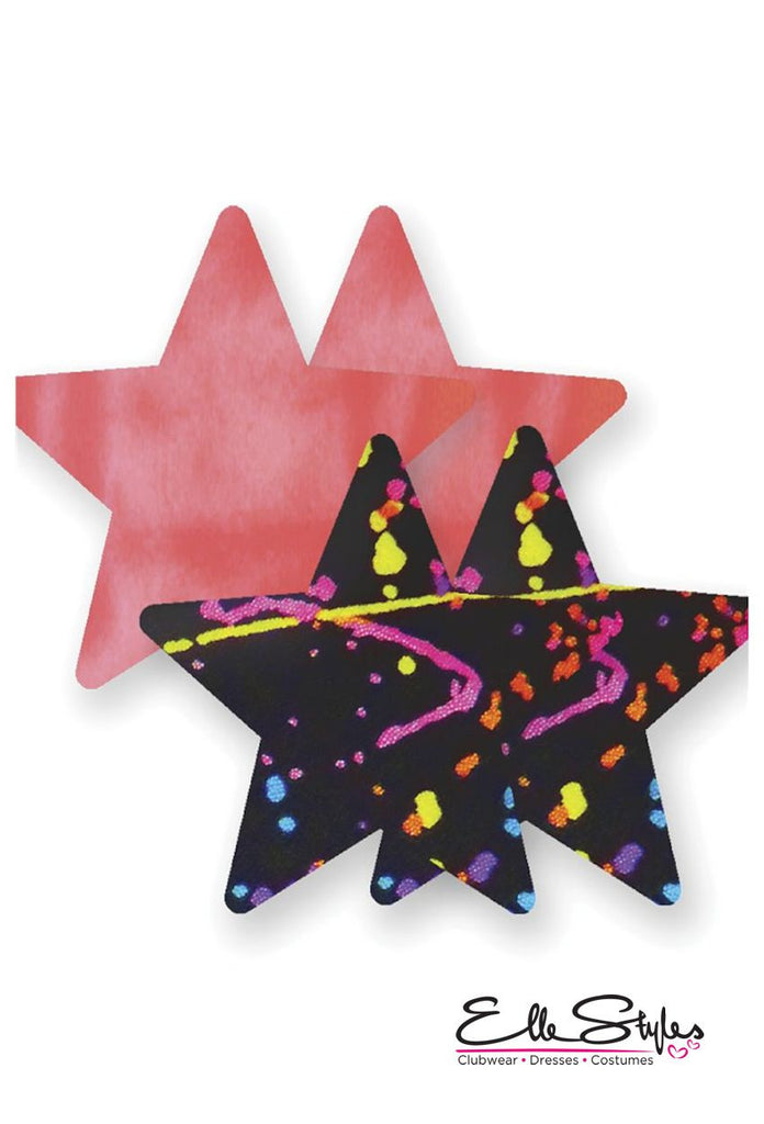 Painted Love Star Nippies
