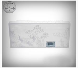 "Wall-mounted air purifier HEPA ""Shield 120 ̊ - 3500"" for rooms up to 10000 ft³"