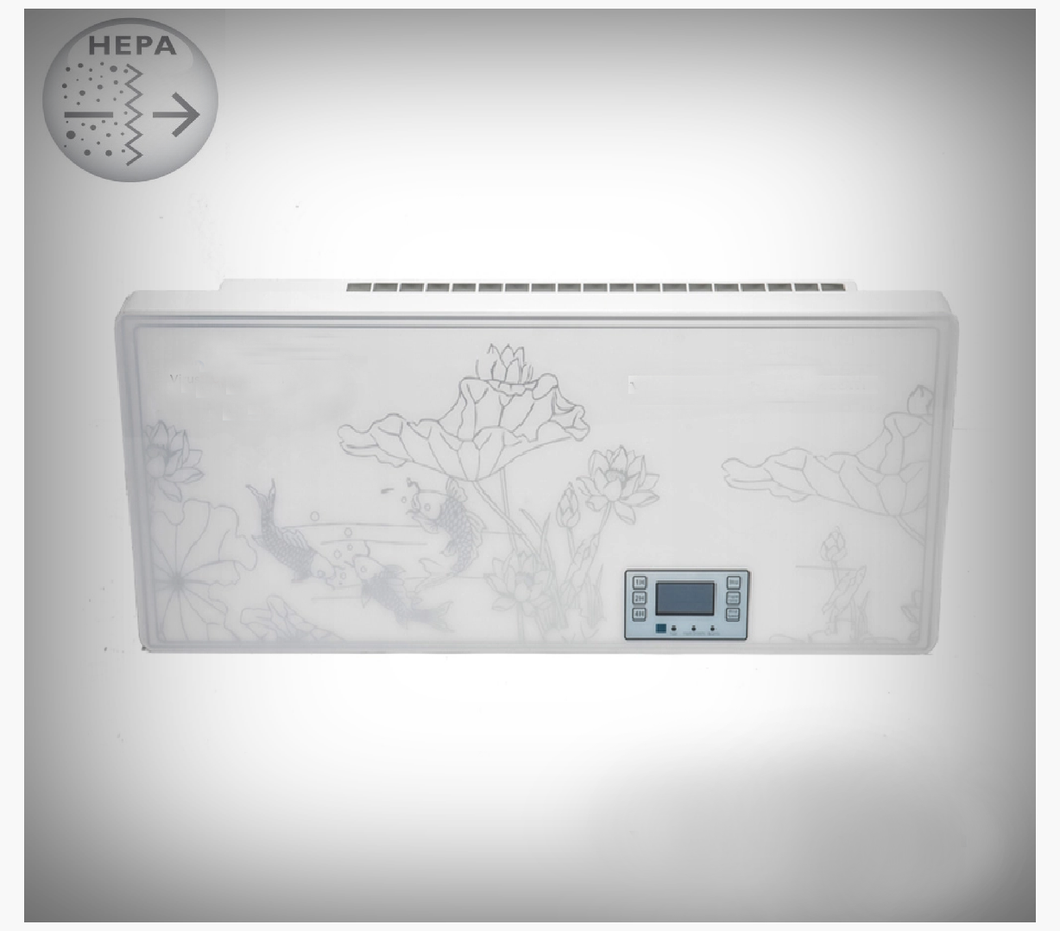 Wall-mounted air purifier HEPA