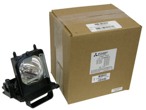 Genuine Mitsubishi 915B455012 Complete Lamp/Bulb/Housing New Original Lamp Assembly, with Osram P-VIP Bright Lamp