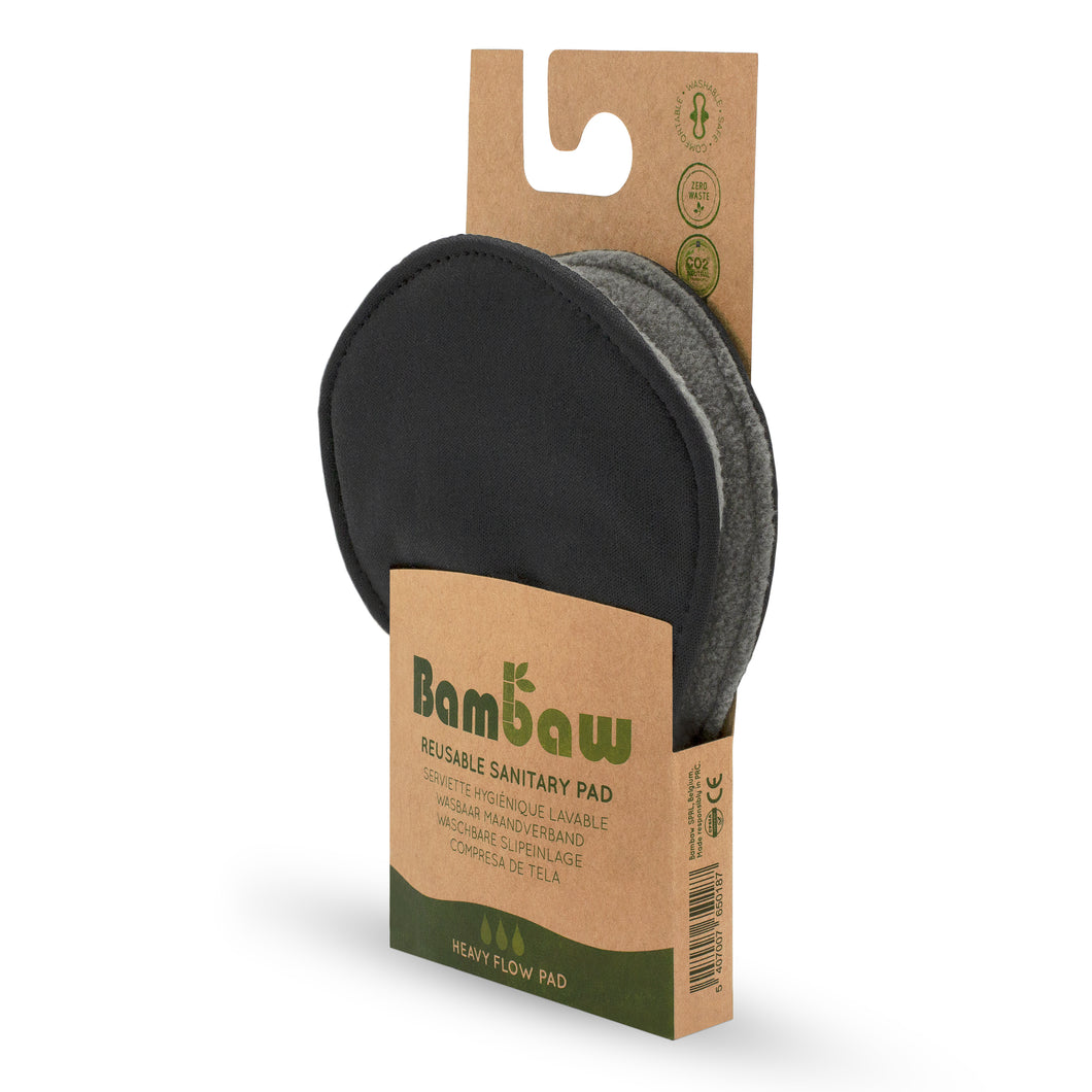 Reusable Sanitary Pad (Heavy) - Bambaw