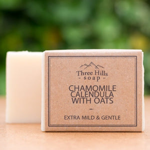 Chamomile with Oats Soap Bar - Three Hills Soap