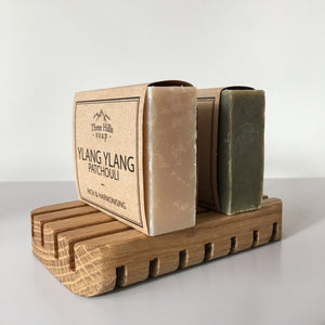 Handmade Oak Wooden Soap Dish - Wild Atlantic Wood