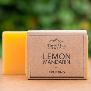 Lemon Mandarin Soap Bar - Three Hills Soap