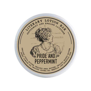 Pride And Peppermint Lotion Bar - Literary Lip Balms