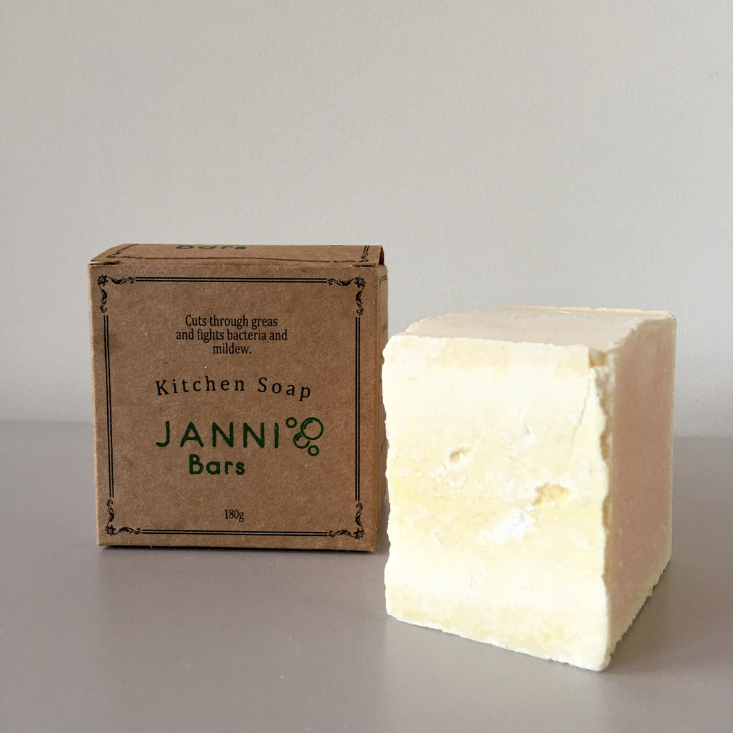 Cleaning Soap Bar - Janni Bars