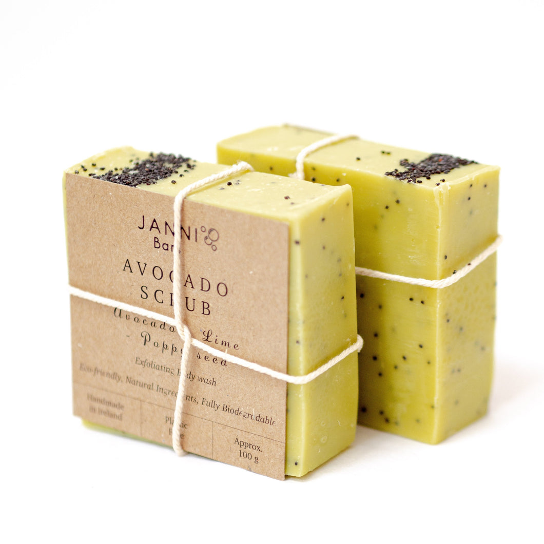 Avocado and Lime Soap Bar - Janni Bars