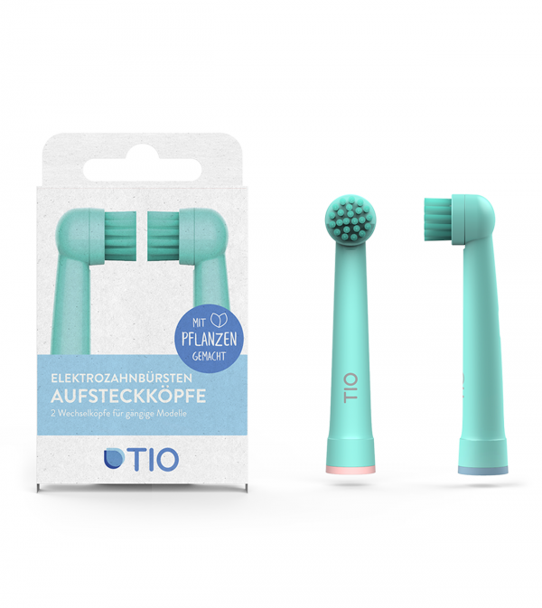 Electric Toothbrush Heads (Pack of 2) - TIO