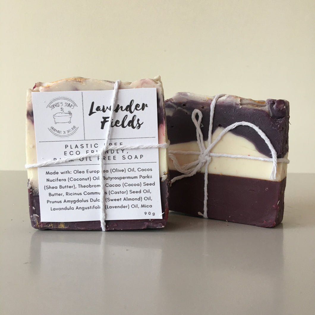 Lavender Fields Soap Bar - Sophie's Soaps