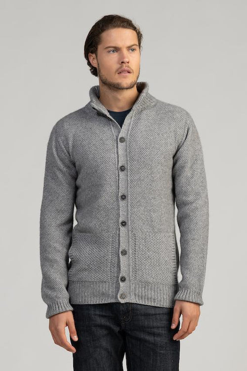 Britten Button Jacket - Danny's Knitwear