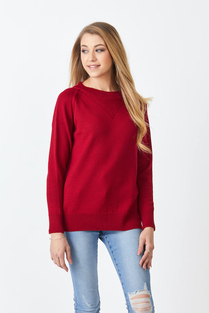 Merino Boyfriend Sweater