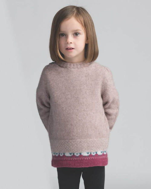 Kids Sheep Jumper - Wistful - Danny's Knitwear