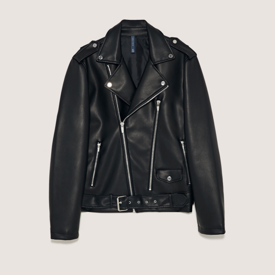 Men's Faux Leather Knight Jacket