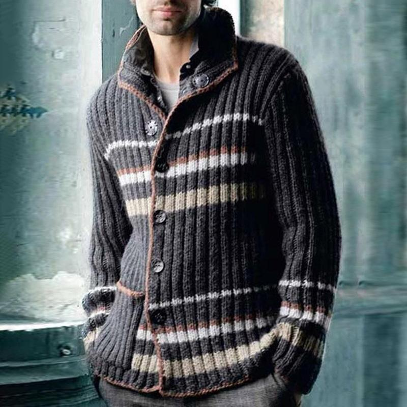 Men's fashion casual pattern sweater