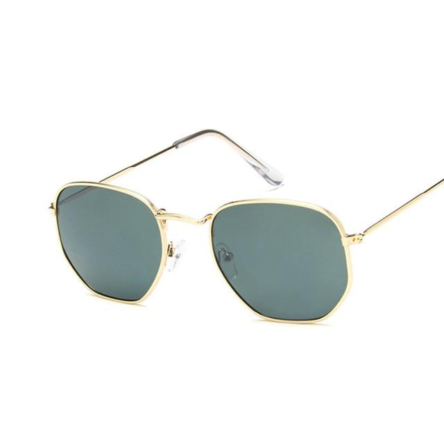 Mirror Retro Sun Glasses For Women