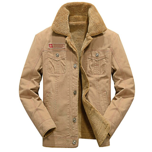 Winter Jacket Men Military Outerwear Tactical Air Force Pilot Bomber Jackets