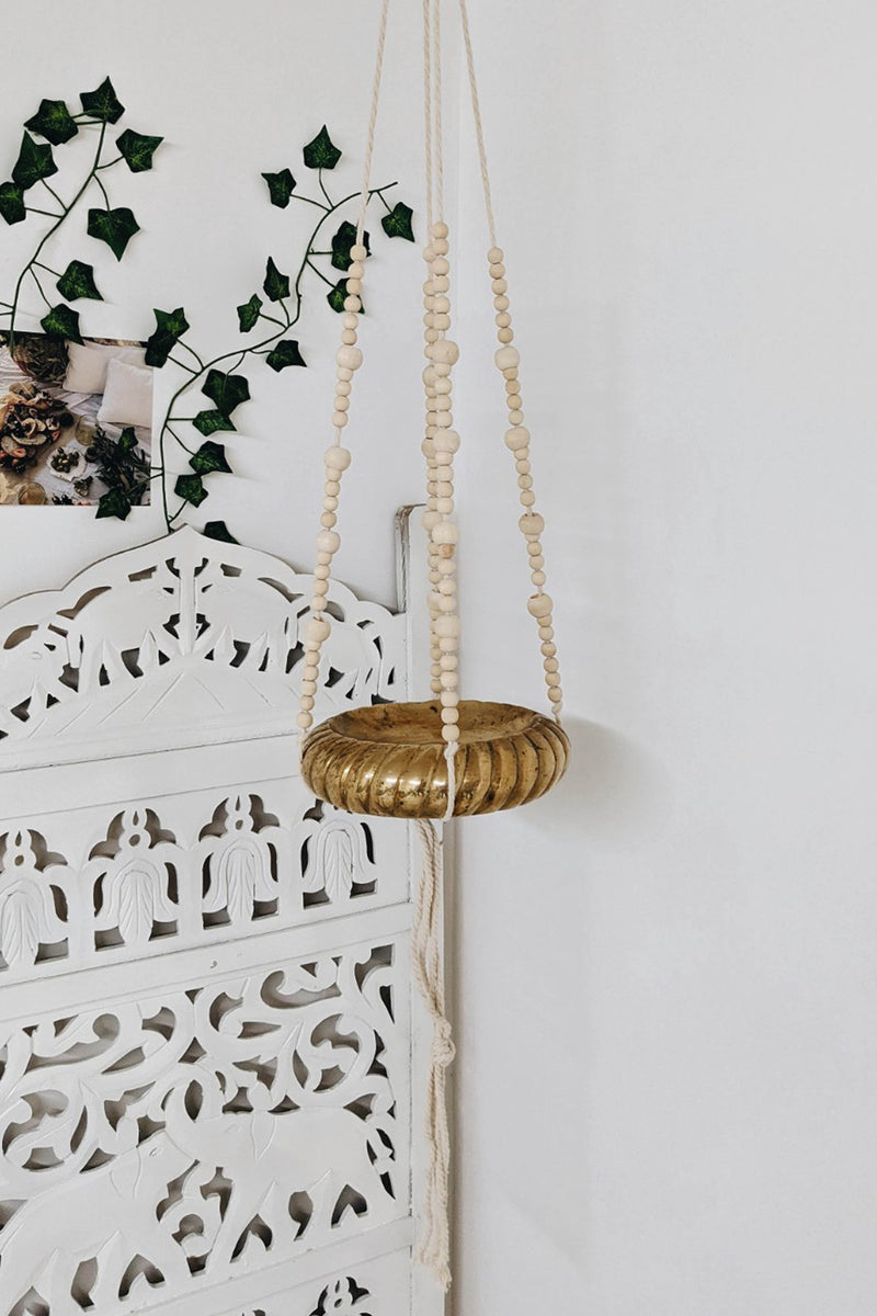 Essa Long Beaded Plant Hanger