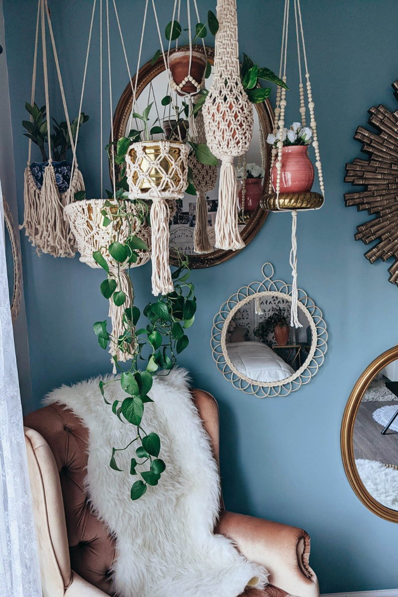 Eden Beaded Plant Hanger