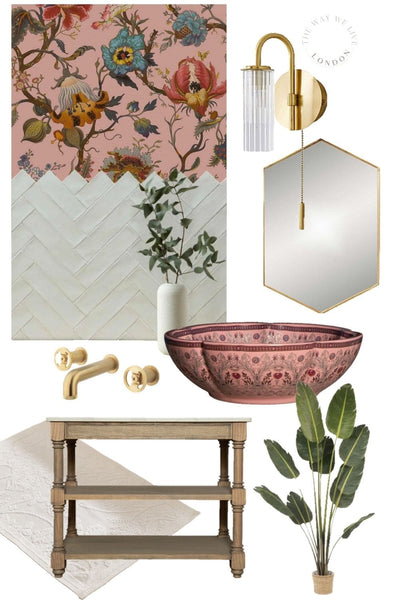 How to create Classic Timeless Pink bathroom ideas