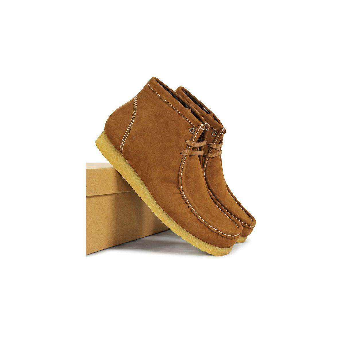 Will's Vegan モカシンブーツ スエード Moccasin Boots Suede - ハッピーキヌア