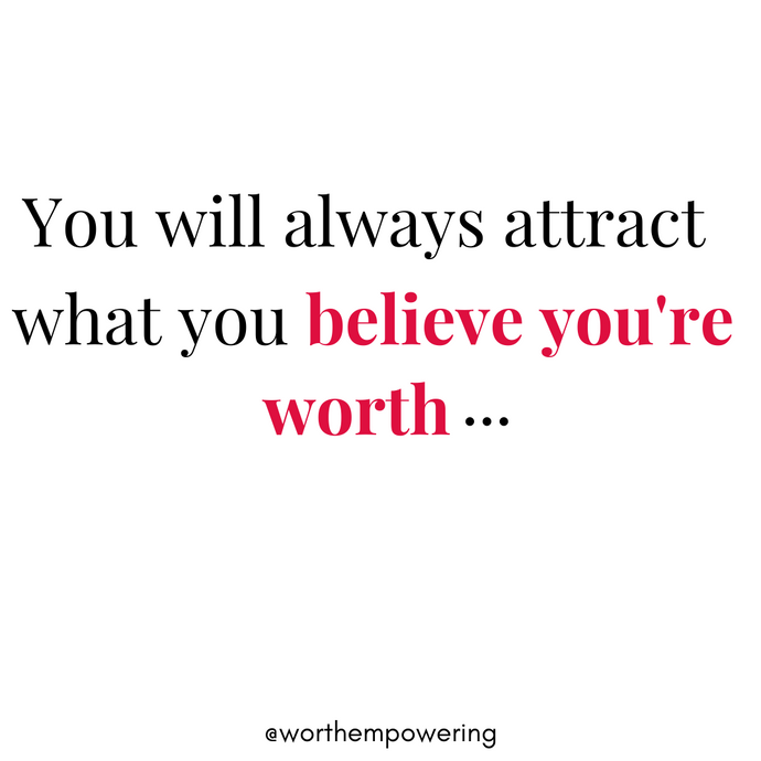 Attract Your Worth!