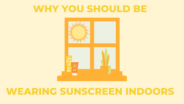 wearing sunscreen indoors